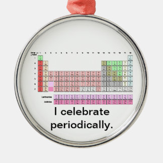 Periodically Christmas Ornament