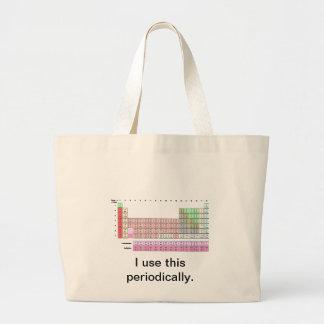 Periodically Jumbo Tote Bag