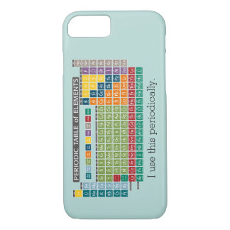 Periodically Periodic Table of Elements iPhone 8/7 Case