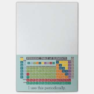 Periodically Periodic Table of Elements Post-it® Notes