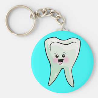 Periodontist Periodontics Periodontry Basic Round Button Key Ring