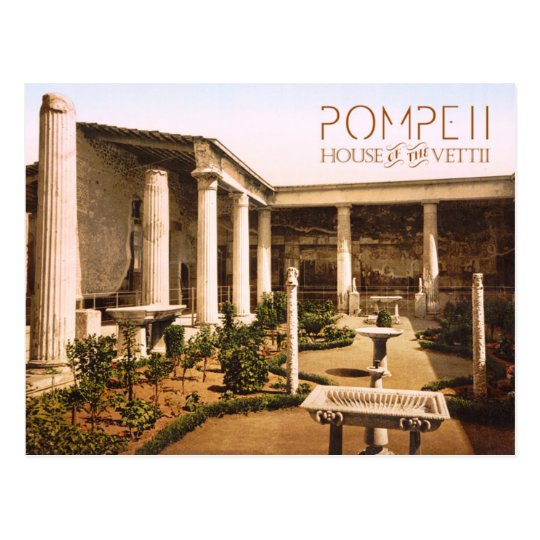 Peristyle of the House of the Vettii, Pompeii