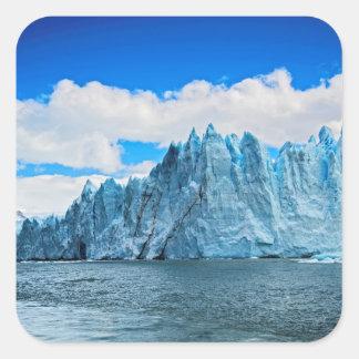 Perito Morena Glacier, Patagonia Square Sticker