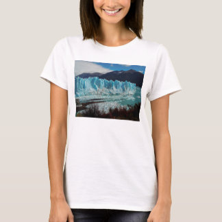 Perito Moreno Glacier Front In The Andes T-Shirt