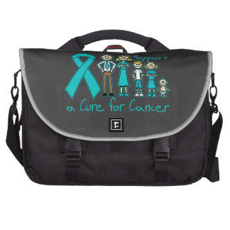 Peritoneal Cancer Family Support A Cure Laptop Commuter Bag