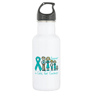 Peritoneal Cancer Family Support A Cure 532 Ml Water Bottle
