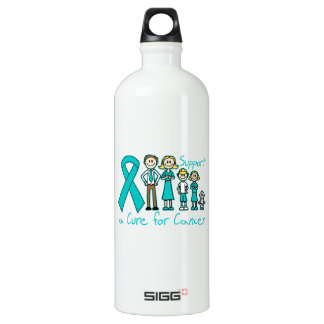 Peritoneal Cancer Family Support A Cure SIGG Traveller 1.0L Water Bottle