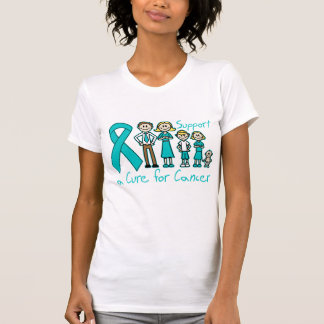 Peritoneal Cancer Family Support A Cure Shirt