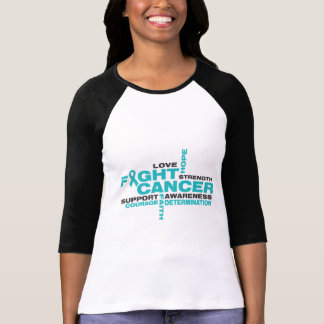 Peritoneal Cancer Fight Collage Tshirts