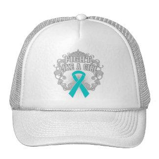 Peritoneal Cancer Fight Like A Girl Fleurish Hats