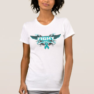 Peritoneal Cancer Fight Like a Girl Wings.png Tees