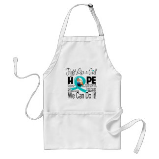 Peritoneal Cancer Fight We Can Do It Adult Apron