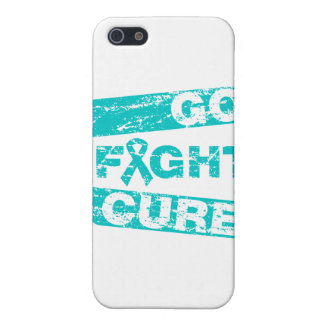 Peritoneal Cancer Go Fight Cure iPhone 5 Covers