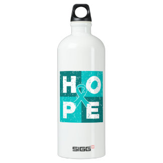 Peritoneal Cancer HOPE Cube SIGG Traveller 1.0L Water Bottle