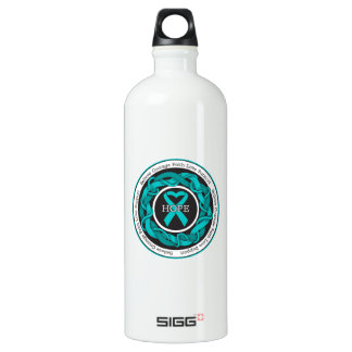 Peritoneal Cancer Hope Intertwined Ribbon SIGG Traveller 1.0L Water Bottle