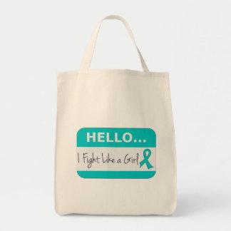 Peritoneal Cancer I Fight Like a Girl Bag
