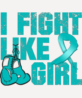 Peritoneal Cancer I Fight Like A Girl (Grunge) T Shirt
