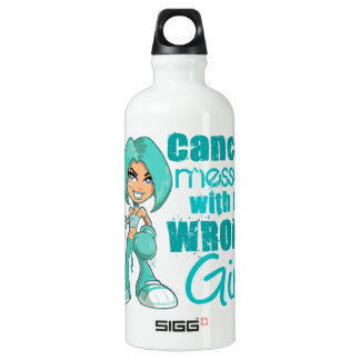 Peritoneal Cancer Messed With Wrong Girl.png SIGG Traveller 0.6L Water Bottle