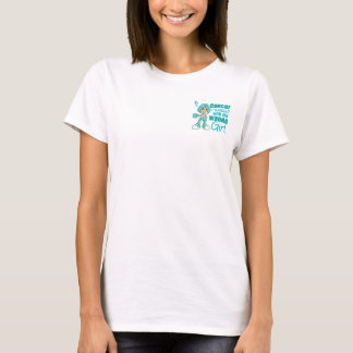 Peritoneal Cancer Messed With Wrong Girl.png T-Shirt
