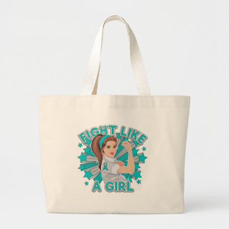 Peritoneal Cancer Modern Rosie Fight Tote Bags