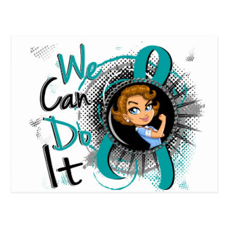 Peritoneal Cancer Rosie Cartoon WCDI.png Postcard