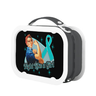 Peritoneal Cancer Rosie The Riveter Fight Like a G Lunchbox