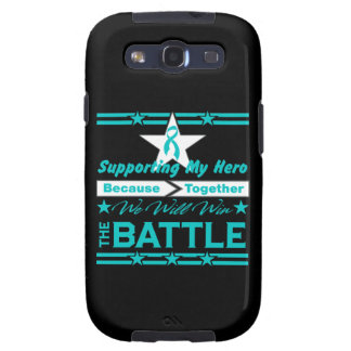 Peritoneal Cancer Supporting My Hero Samsung Galaxy SIII Covers
