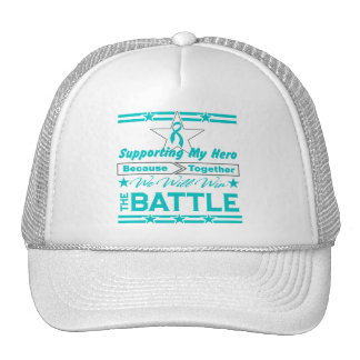 Peritoneal Cancer Supporting My Hero Trucker Hats