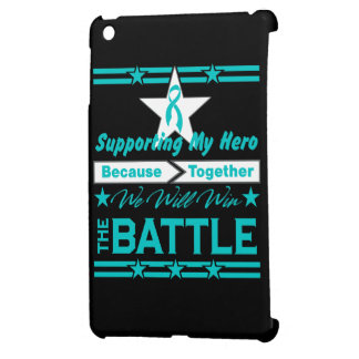 Peritoneal Cancer Supporting My Hero iPad Mini Cases