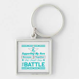 Peritoneal Cancer Supporting My Hero Keychains