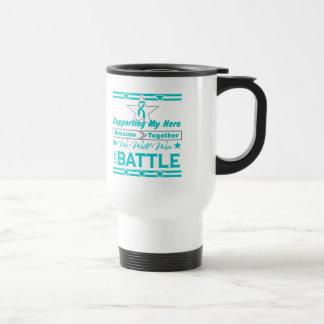 Peritoneal Cancer Supporting My Hero Coffee Mugs