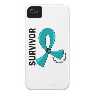 Peritoneal Cancer Survivor 12 iPhone 4 Case-Mate Cases