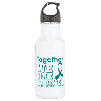 Peritoneal Cancer Together We Are Stronger 532 Ml Water Bottle