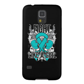 Peritoneal Cancer Ultra Fight Like A Girl Galaxy S5 Cover