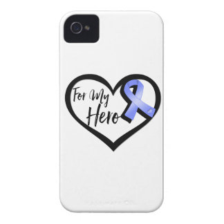 Periwinkle Awareness Ribbon For My Hero Case-Mate iPhone 4 Cases