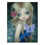 Periwinkle Butterfly Fairy Postcard