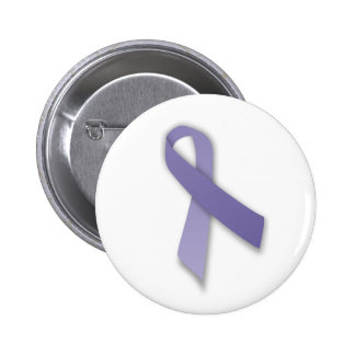 Periwinkle Cancer and Political Statement Ribbon 6 Cm Round Badge