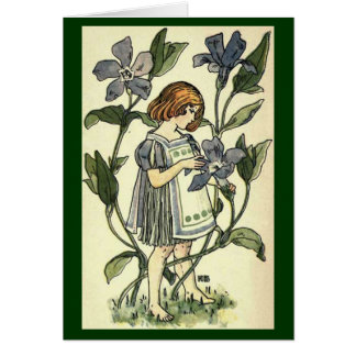 Periwinkle Card