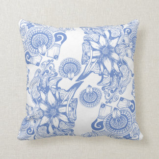 Periwinkle Flower of Power Cushion