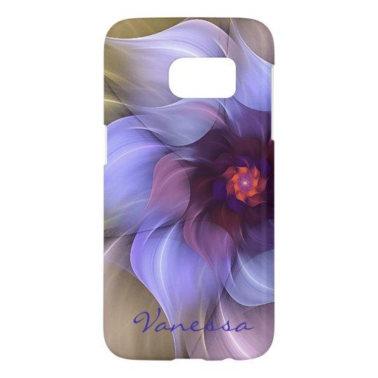Periwinkle Fractal Flower