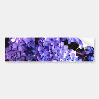 Periwinkle Hydrangeas Bumper Sticker