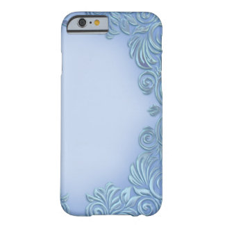 Periwinkle-Mauve Foil I-Phone Case Barely There iPhone 6 Case