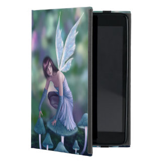 Periwinkle Mushroom Fairy iPad Mini Case