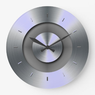 Periwinkle Overtones Matching Color Wall Clocks