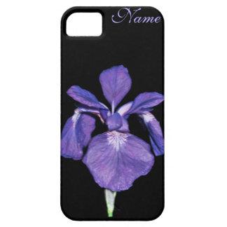 Periwinkle Purple Iris Personalized iPhone Case iPhone 5 Cases