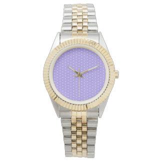 Periwinkle Snowflake Wristwatch