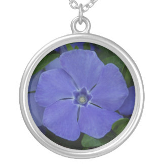 Periwinkle Sterling Silver Necklace