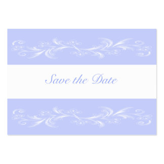 Periwinkle Sweet Floral Save The Date Cards Business Card Templates