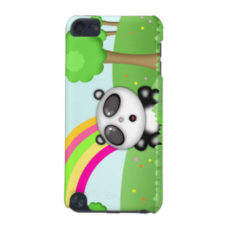 Perkin the Panda Bear Colorful Cartoon Scene iPod Touch (5th Generation) Cover