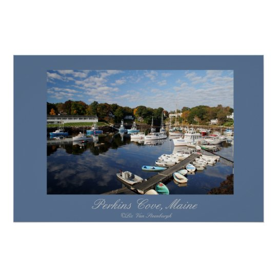 Perkins Cove, Maine Print